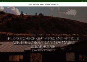 landofmagicsteakhouse.com