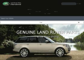 landroverpartsinternational.com
