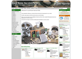 landroverserviceparts.co.uk