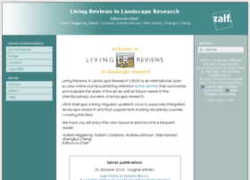 landscaperesearch.livingreviews.org