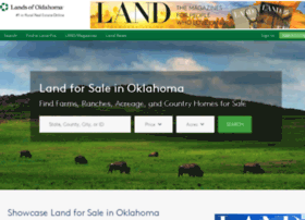 landsofoklahoma.com