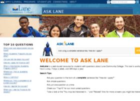 lanecc.intelliresponse.com