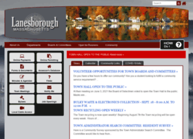 lanesborough-ma.gov