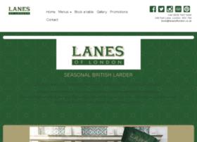 lanesoflondon.com