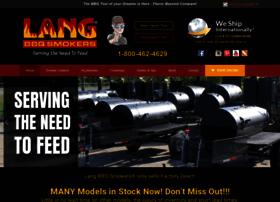 langbbqsmokers.com