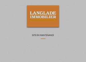 langlade-immobilier.com