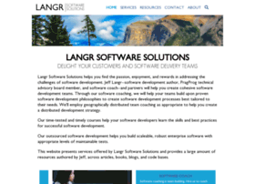 langrsoft.com