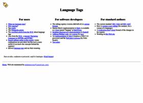 langtag.net