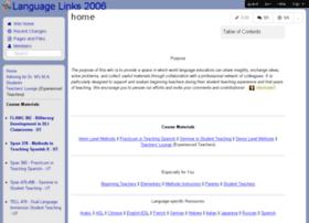 languagelinks2006.wikispaces.com