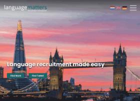 languagematters.co.uk