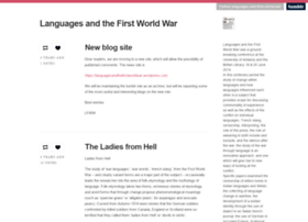 languages-and-first-world-war.tumblr.com
