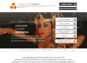 languagestudiesindonesia.com