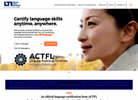 Language Testing International  Validated and Certified
