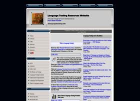 languagetesting.info