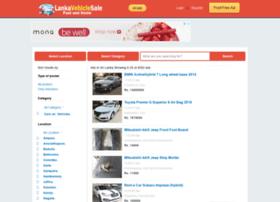 lankavehiclesale.com