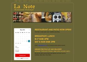 lanoterestaurant.com