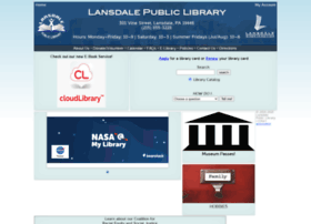 lansdalelibrary.org