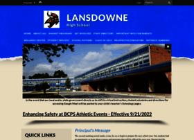lansdownehs.bcps.org