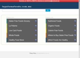 lapalomafoods.com.mx
