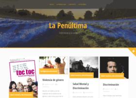 lapenultima.org
