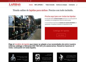 lapidasparanichos.com
