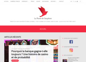 laplumedauphine.fr