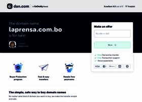 laprensa.com.bo