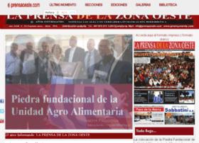 laprensadelazonaoeste.com