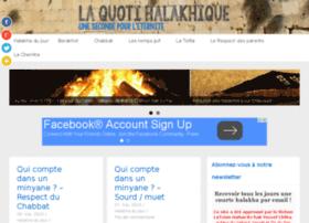 laquotidiennehalakhique.org