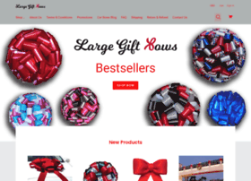 largegiftbows.com