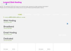 largestwebhosting.com