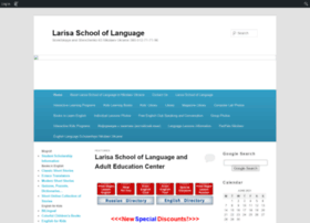 larisaschooloflanguage.edublogs.org