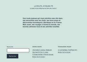 laroutejoyeuse.fr