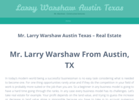 larrywarshawaustintexas.wordpress.com