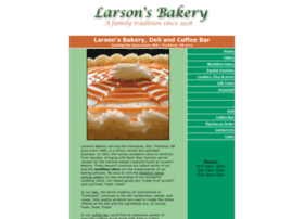 larsonsbakery.net