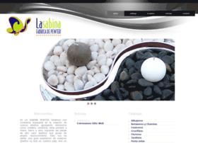 lasabinapewter.com