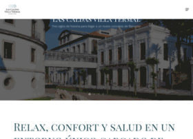 lascaldasvillatermal.com