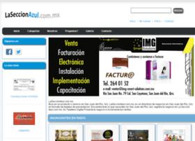 laseccionazul.com.mx