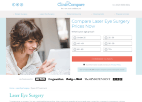 lasereyesurgery.cliniccompare.co.uk
