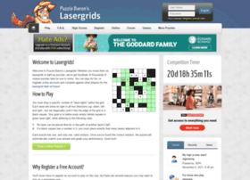 lasergrids.puzzlebaron.com