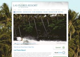 lasfloresresort.com