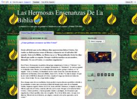 lashermosasensenanzasdelabiblia.blogspot.com