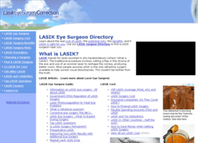 lasikeyesurgerycorrection.com
