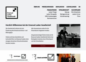 lasker-gesellschaft.de