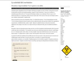 lasoledaddelexcentrico.wordpress.com