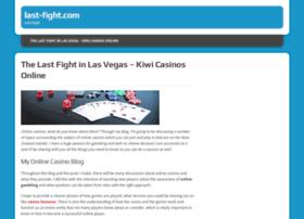 last-fight.com