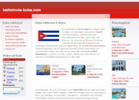 lastminute-kuba.com