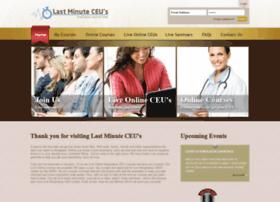 lastminuteceus.com