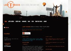 lastvoices.com