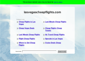 lasvegascheapflights.com